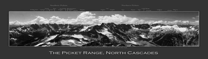 The Picket Range Panorama